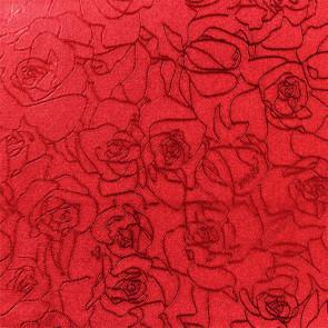 Rosenstreger i rødt