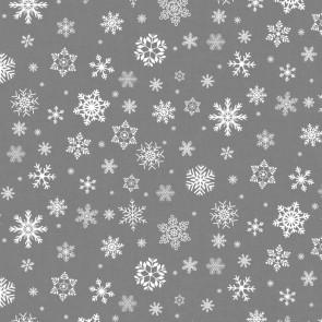 Julevoksdug - Tushmørkesne, Sølvgrå